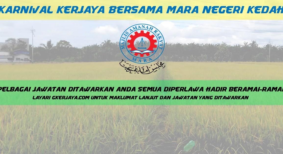 Karnival Kerjaya Bersama Mara Negeri Kedah