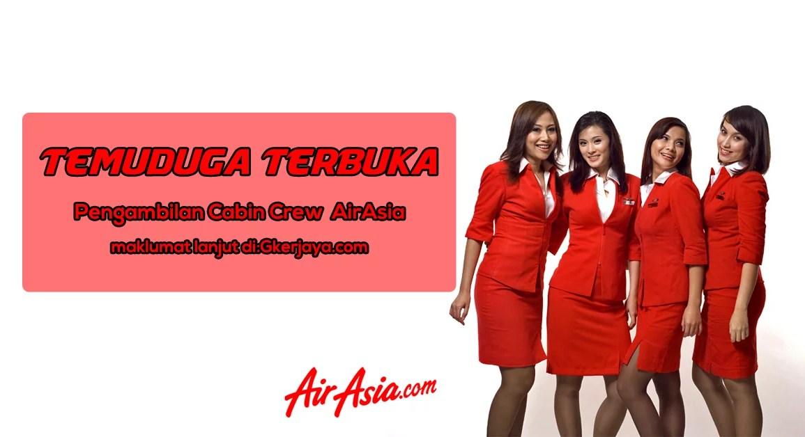 Temuduga Terbuka Cabin Crew AirAsia 2016