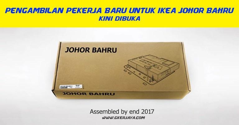 Kerja Kosong di IKEA Johor Bahru Pelbagai Bidang dan jawatan