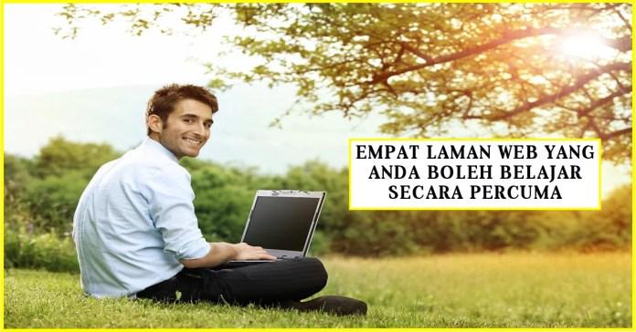 Empat Laman pendidikan Online