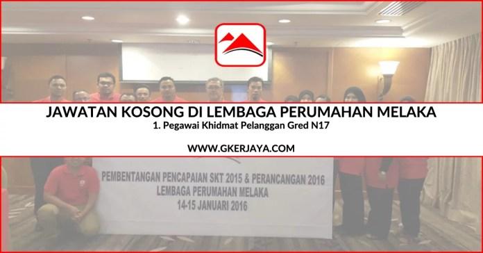 Jawatan Kosong Kerajaan Lembaga Perumahan Melaka