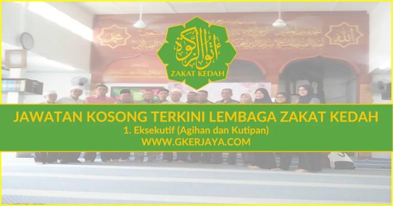 Jawatan Kosong Lembaga Zakat Negeri Kedah