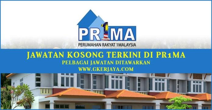 Iklan Jawatan Kosong Perbadanan Pr1ma Malaysia