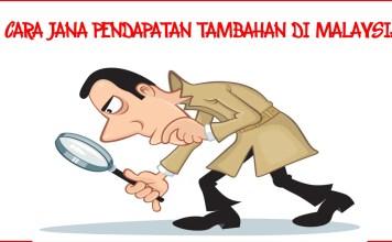 4 cara anda tambahkan pendapatan di Malaysia