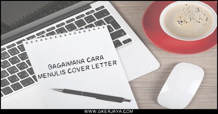 Bagaimana cara menulis cover letter