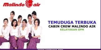 Cabin crew Malindo air Interview