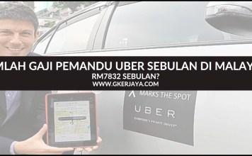 Gaji Pemandu Uber Sebulan di Malaysia