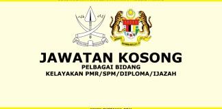 Iklan Jawatan Kosong SPA Negeri Pahang