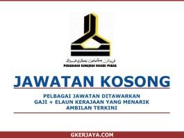 Iklan jawatan Kosong Perbadanan Kemajuan Negeri Perak