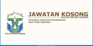 Iklan jawatan kosong Majlis Daerah Marang