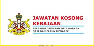 Iklan jawatan kosong Suruhanjaya Perkhidmatan Awam Negeri