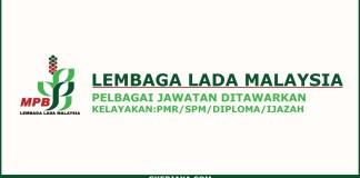 Iklan jawatan kosong terkini Lembaga Lada Malaysia