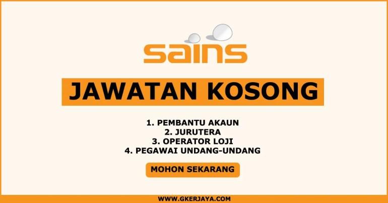 Iklan jawatan kosong terkini di Sains water Syarikat Air Negeri Sembilan