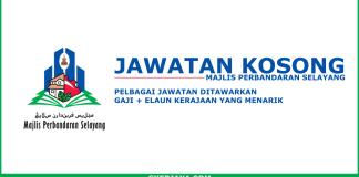 Iklan kerja kosong Majlis Perbandaran Selayang
