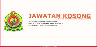 Iklan kerjaya Majlis Perbandaran Sungai Petani