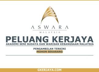 Jawatan Kosong ASWARA Malaysia