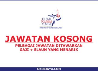 Jawatan Kosong Islamic Tourism Centre