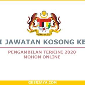Jawatan Kosong Kerajaan 2020