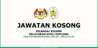 Jawatan Kosong Kerajaan Negeri Terengganu (1)