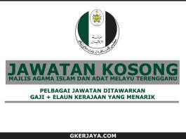 Jawatan Kosong Majlis Agama Islam dan Adat Melayu Terengganu