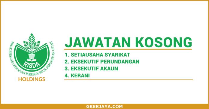 Jawatan Kosong Risda Holdings Sdn Bhd