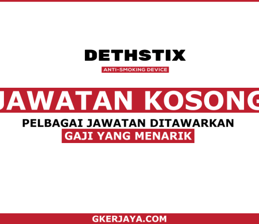 Jawatan Kosong Terkini di Dethstix