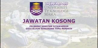 Jawatan Kosong UiTM Cawangan Selangor