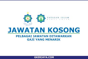 Jawatan Kosong Yayasan Islam Darul Ehsan (1)