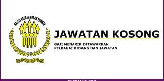 Jawatan Majlis Daerah Perak Tengah