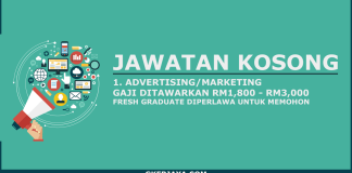 Jawatan kosong Advertising Marketing Parcelhub Sdn Bhd