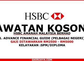 Jawatan kosong HSBC Amanah malaysia berhad