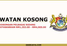 Jawatan kosong Johor di Majlis Perbandaran Pasir Gudang