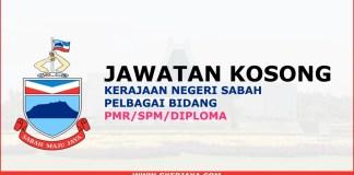 Jawatan kosong kerajaan Sabah online