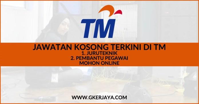 Jawatan kosong terkini TM Sarawak