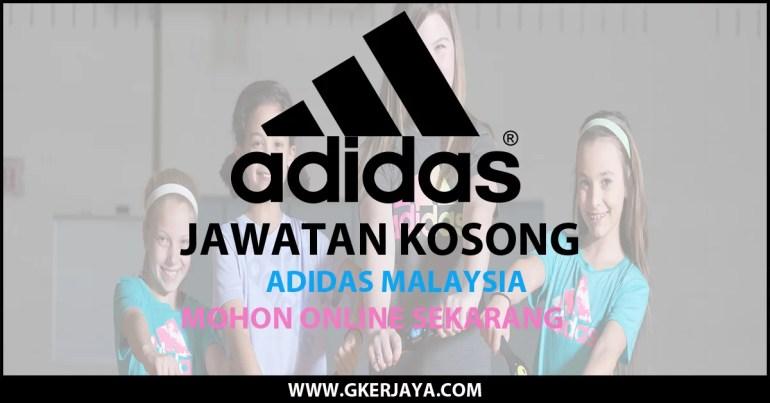 Jawatan kosong terkini di Adidas Malaysia Sdn Bhd
