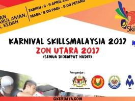 Karnival Skills Malaysia Zon Utara 2017