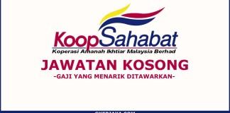 Kerja Kosong Koperasi Sahabat Amanah Ikhtiar Malaysia