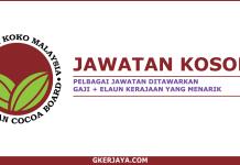 Kerja Kosong Lembaga Koko Malaysia
