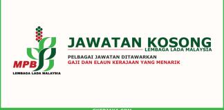 Kerja Kosong Lembaga Lada Malaysia