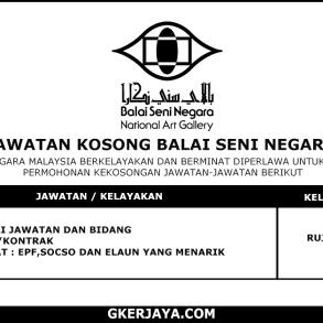 Kerja Terkini Balai Seni Negara (1)