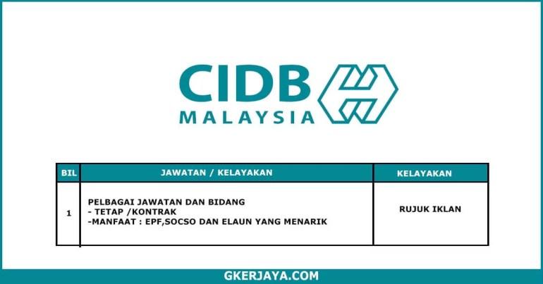 Kerja Terkini CIDB Malaysia (1)