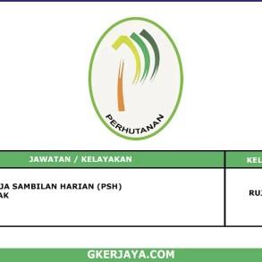 Kerja Terkini Jabatan Perhutanan Negeri Pahang (1)
