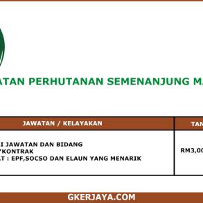 Kerja Terkini Jabatan Perhutanan Semenanjung Malaysia (1)