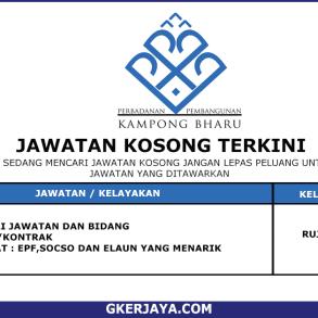 Kerja Terkini Kampong Bharu Development Corporation (1) (1)