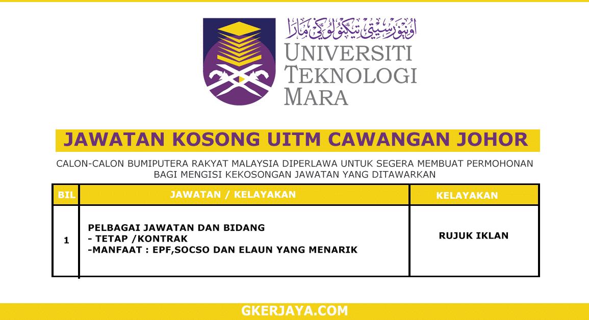Kerja Terkini UiTM Cawangan Johor (1)