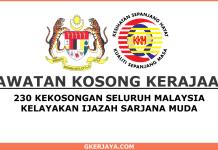 Kerja kosong Kementerian Kesihatan Malaysia Terkini