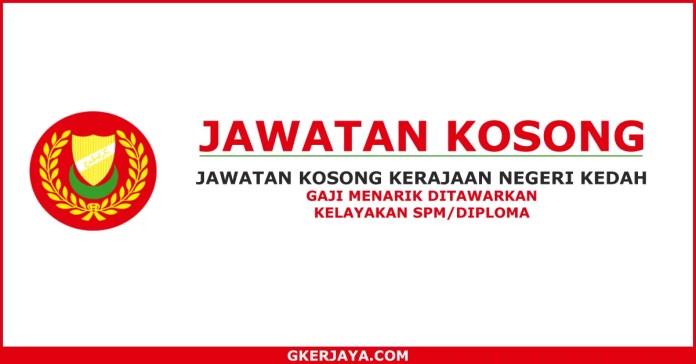 Kerja kosong Kerajaan Negeri Kedah SPA KEDAH