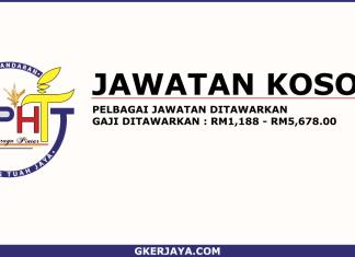 Kerja kosong Majlis Perbandaran Hang Tuah Jaya