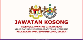 Kerja kosong Majlis Perbandaran Seberang Perai 2018