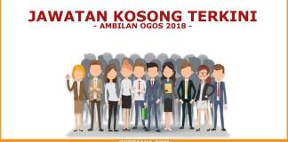 Kerja kosong swasta ambilan Ogos 2018